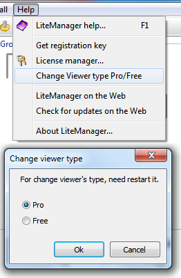 Change Viewer type.
