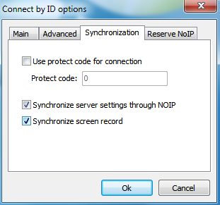 Synchronize screen record